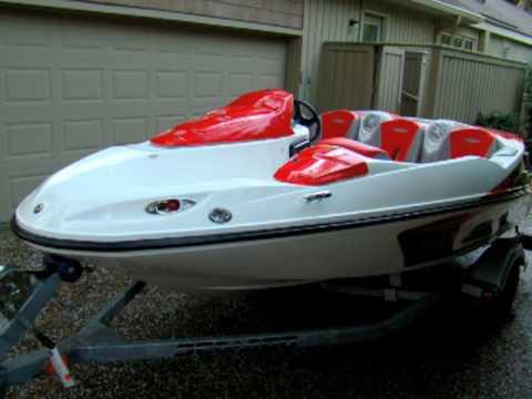 2008 SeaDoo Jet boat 150 - YouTube