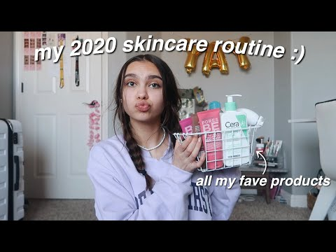 my 2020 skincare routine :)