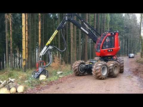 Komatsu 911 mit C123 (911.6) in Käferholz