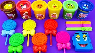 learn colors with play doh ice cream candy surprise toys disney princess kinder surprise eggs
