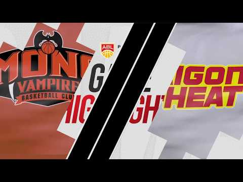 Mono Vampire v Saigon Heat | Highlights | 2018-2019 ASEAN Basketball League