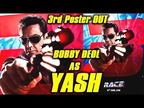 Bobby Deol First Look Out | Yash - The Main Man | Race 3 | Sikander Vs Yash | Salman Khan