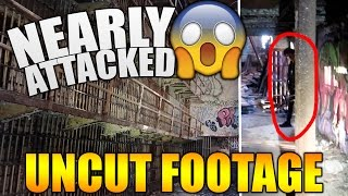 NEARLY ATTACKED WHILE EXPLORING AN ABANDONED JAIL (NOT CLICKBAIT!)