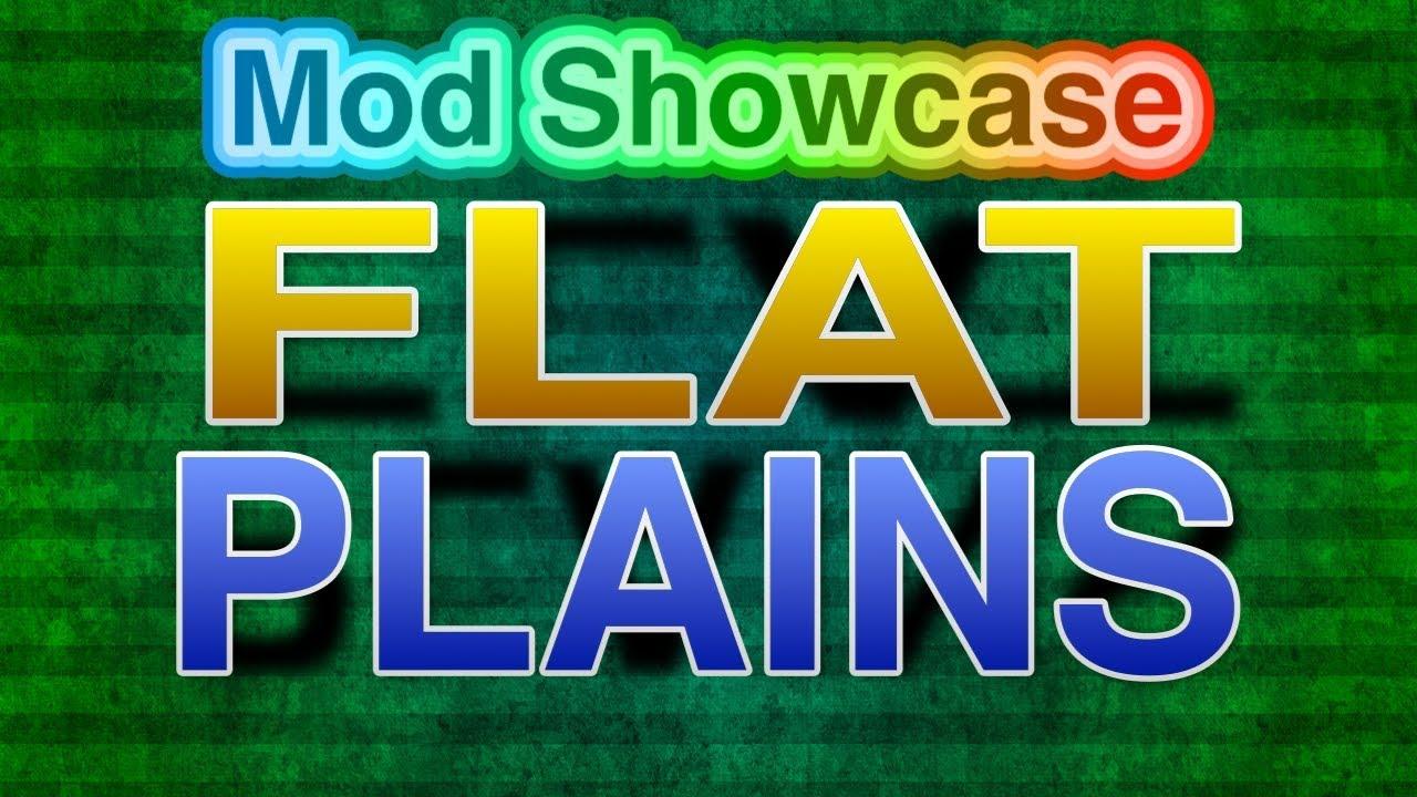 Flat Plains Biome Mod Showcase Minecraft 1122