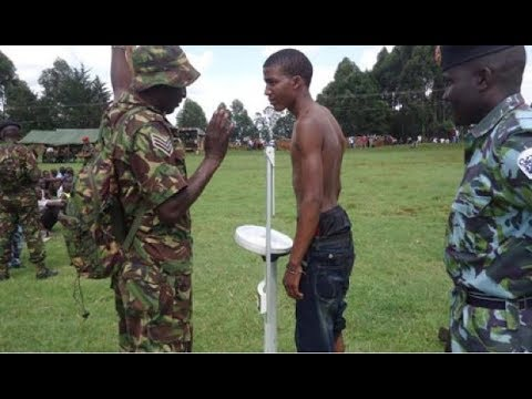 KDF recruitment exercise kicks off in all parts of the country