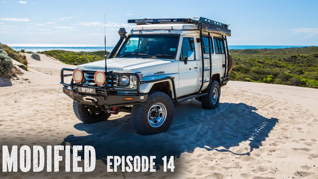 Landcruiser Troopy Camper Modified Episode 14 Youtube