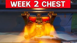 Botimus Prime Block Week 2 Legendary Chest Location - Fortnite (The Block) Saison 8