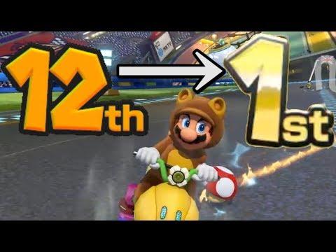 Mario Kart 8 Deluxe Comebacks & Steals Montage 3