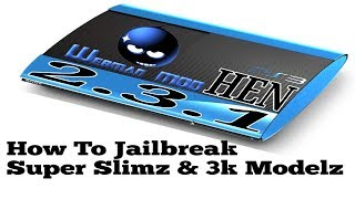How To Jailbreak a PS3 SuperSlim / Install HFW 4.84 on OFW for HEN 2.3.1 (2019)