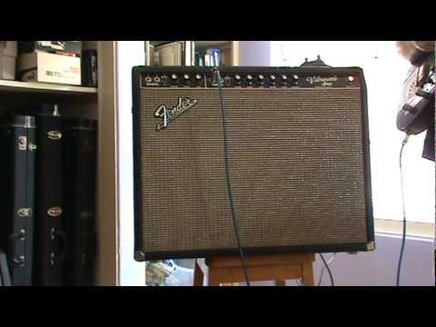 1964 Original Fender Vibroverb Blackface Tube Amp  Review