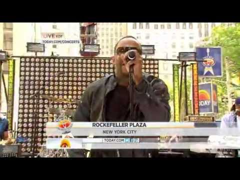 "Bobby Brown performs ""Every Little Step"" live on Today Show at Rockefeller plaza"