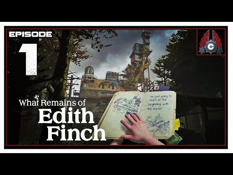 Let's Play What Remains Of Edith Finch With CohhCarnage - Episode 1