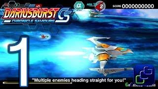 Darius Burst Chronicle Saviours Walkthrough - Gameplay Part 1 - Oruriba