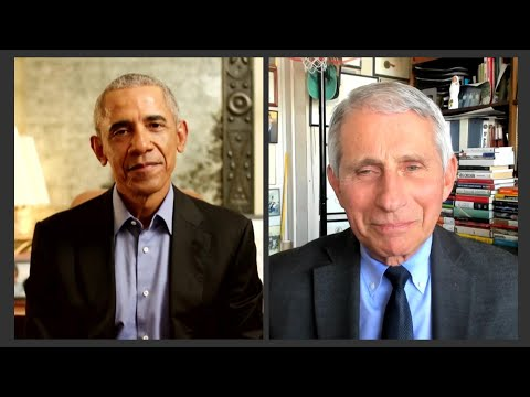 A conversation with President Barack Obama and Dr. Fauci