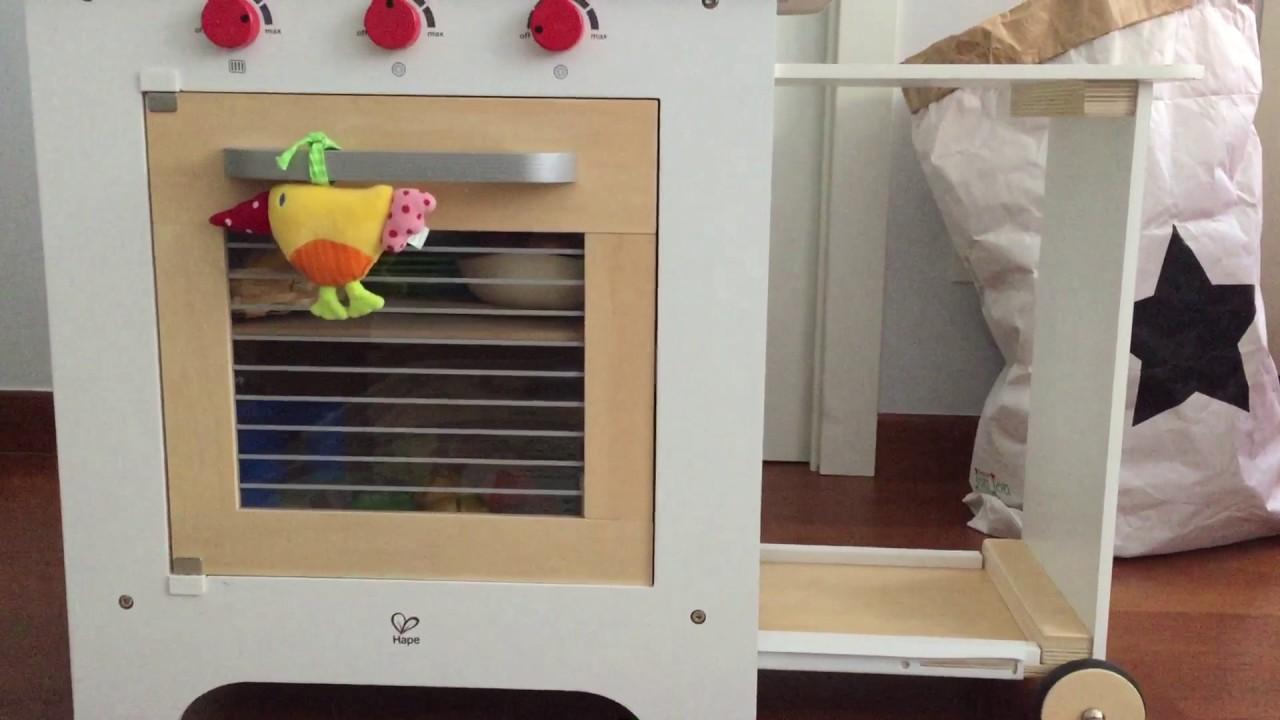 cucina giocattolo hape toys in legno youtube