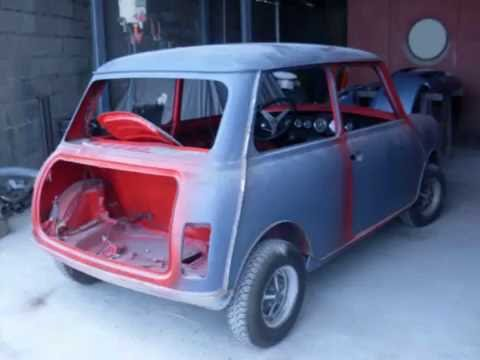 Restauro Mini Cooper 1300 Completo Youtube