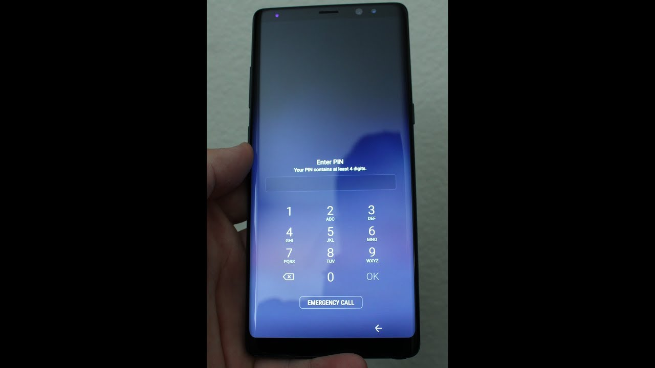 Samsung NOTE 8 and NOTE 9 Reset forgot PASSWORD or Pattern , FINGER PRINT &  hard reset