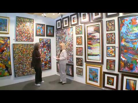 Art - Interview Jamie Forbes / Charles Carson Canadian artist - Fine Art magazine - Art Expo - NY