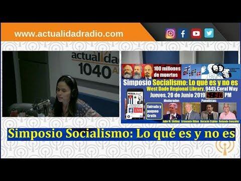 Sobre el Simposio Socialismo: Lo qué es y no es