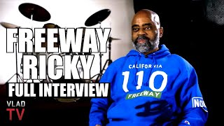 Freeway Ricky on Harry-O, Suge Knight, Boosie, Kodak Black, Lil Wayne, Death Row (Full Interview)