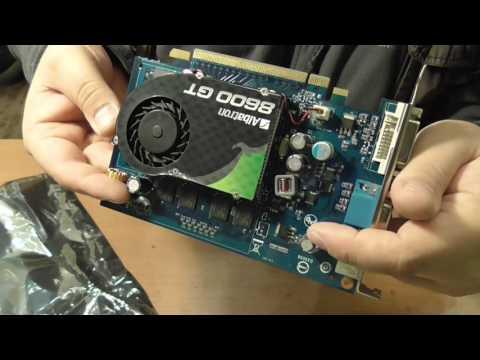 Капсула времени: видеокарта GeForce 8600GT в заводской коробке!