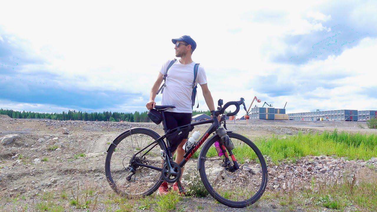 Biker Leaving Town