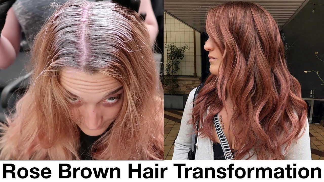 Rose Brown Hair Transformation Youtube