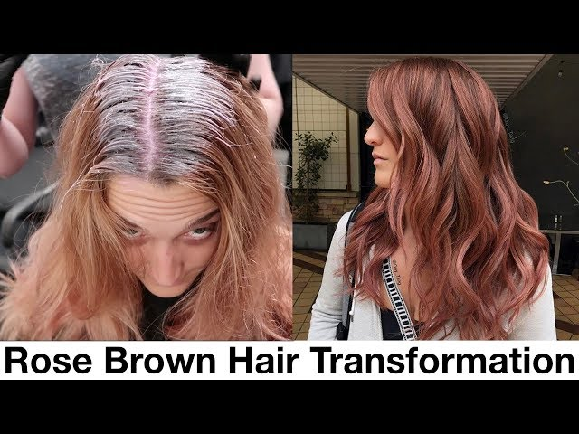 Rose Brown Hair Transformation