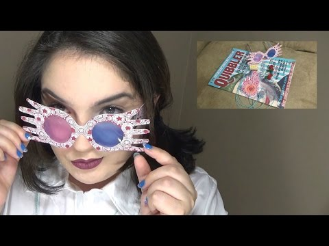 DIY Luna Lovegood glasses (spectrespecs)/Quibbler magazine