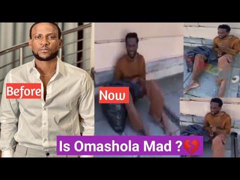 Download Omashola Of BBnaija Seen On The Street Looking Mad