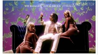 Gambar cover Wiz Khalifa - Gin and drugs ft Problem (lyrics)