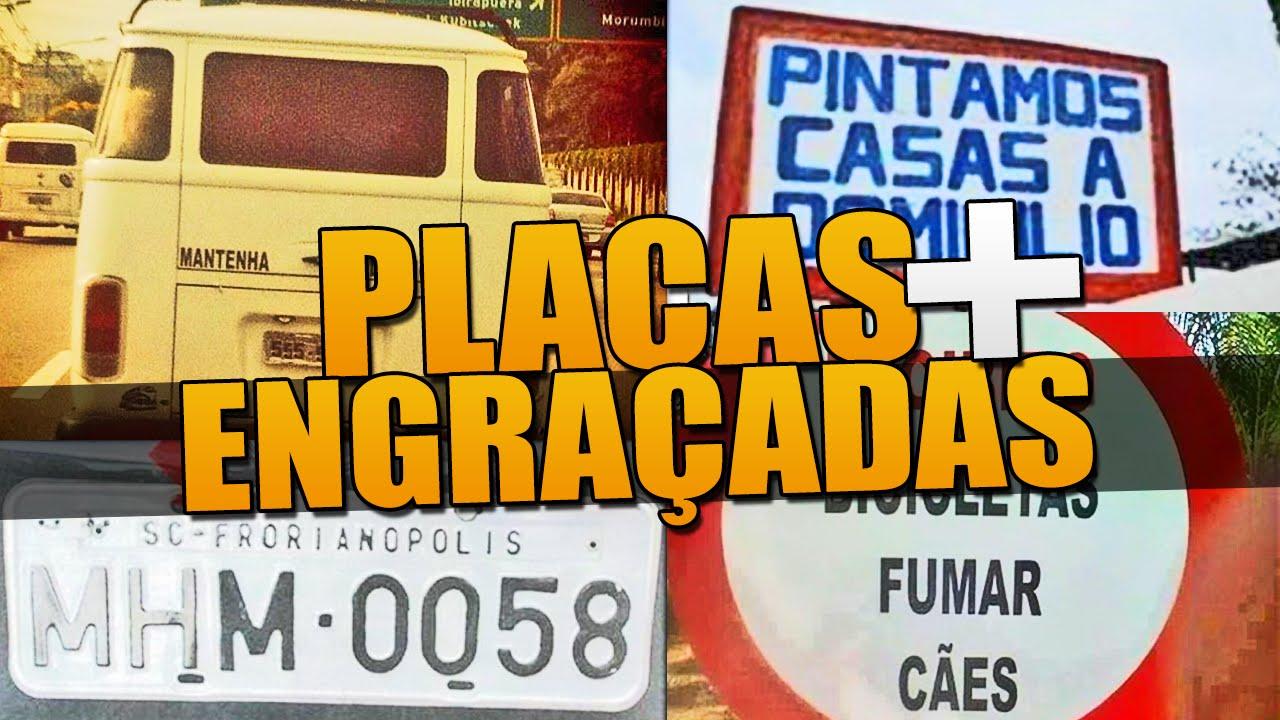 Placas Engraçadas Pelo Brasil - YouTube aab5720a7d25c