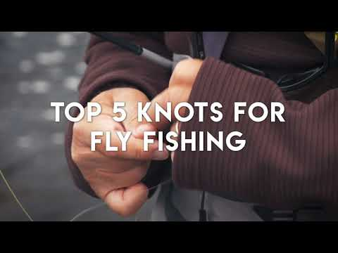 Top 5 Fly Fishing Knots | Animated Instruction