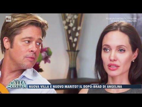 Angelina Jolie si sposa con un ricco inglese? - La Vita in Diretta 19/04/2017