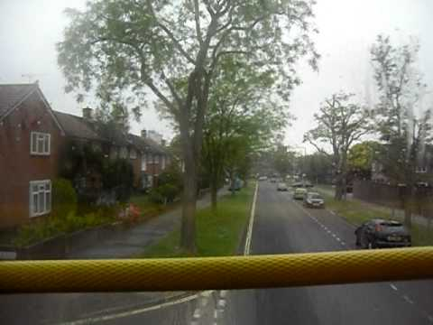 Route 901 Three Bridges Tesco to Crawley Bus Station on board Metrobus  Olympian 838