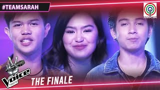 Team Sarah TOP 3 | The Voice Teens Philippines 2020