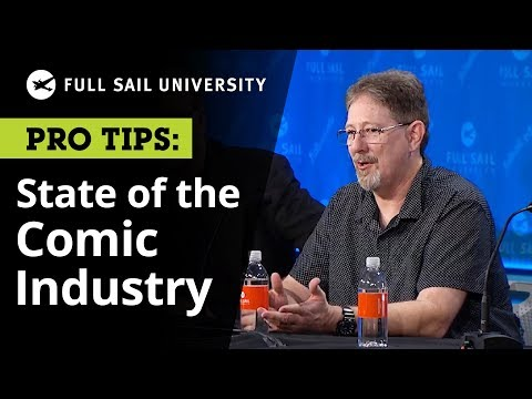 The Comic Industry in the Digital Age - Where It Is, Where It's Going | Full Sail University