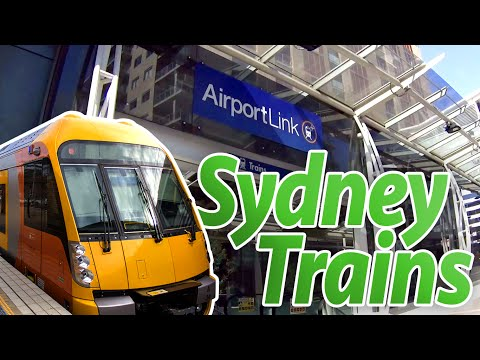 Sydney Trains - Airport Link :: Canal Brasileirando - Sydney, Austrália