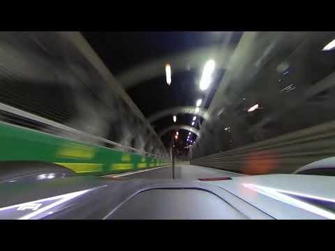 Lewis Hamilton's Pole Lap (Locked 360 Camera) | 2018 Singapore Grand Prix