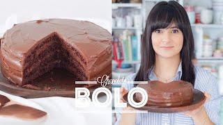 BOLO DE CHOCOLATE PERFEITO SUPER MOLHADO E ESCURO 🍫 | DANI NOCE