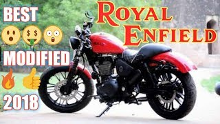 Best modified ROYAL ENFIELD classic 350 2018 INDIA (Car Guru)