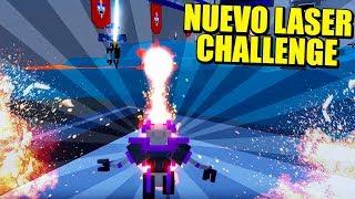 NUEVO LASER CHALLENGE - Actualización CLONE DRONE IN THE DANGER ZONE | Gameplay Español