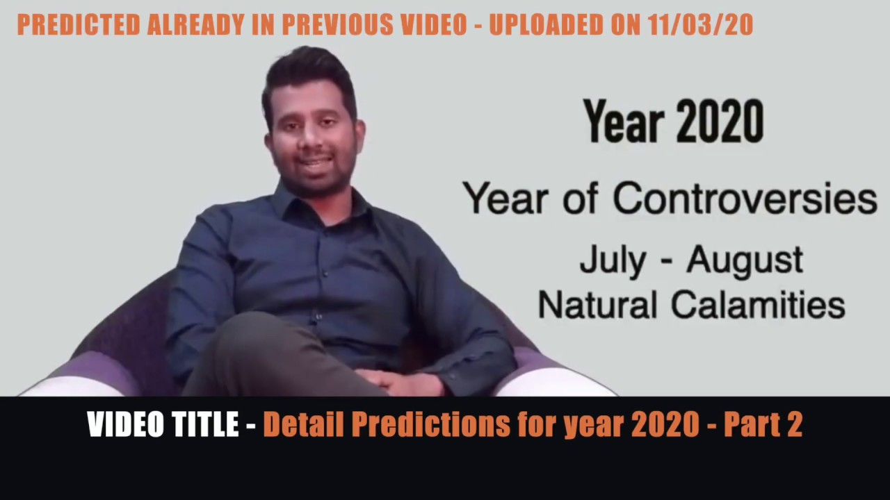 2020 The year of controversies - WHAT NEXT ???