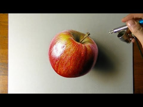 Drawing vs real Apple. Which is the Best?