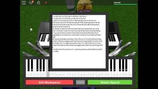 ROBLOX VIRTUAL PIANO - TITANIC