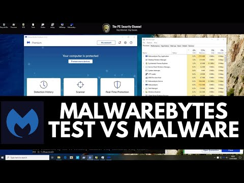 Malwarebytes 4.1 Test vs Malware