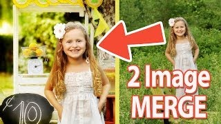 How To Put One Picture Into Another Picture Using Photoshop - Beginner Photoshop Tutorial