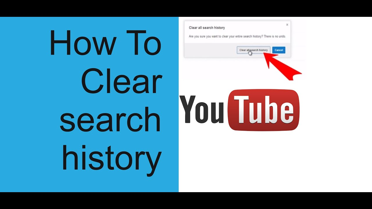 How To Clear My Youtube Search History  Delete Your Search History