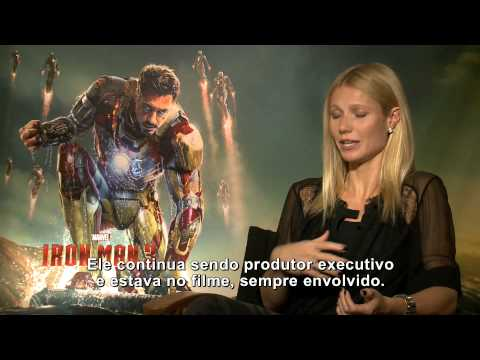 Homem de Ferro 3: Entrevista com Gwyneth Paltrow