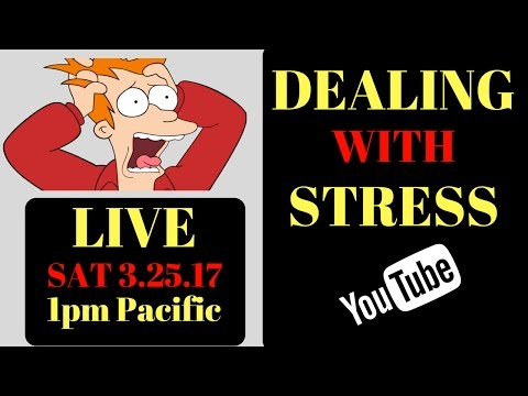 Federal Prison Time- DEALING WITH STRESS. 3.25.17